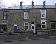 Mid terraced properties near Urmston
